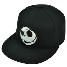 Nightmare Before Christmas Movie Jack Skellington Underbrim Art Snapback Hat Cap