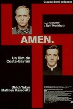 Amen de Costa-Gavras - DVD