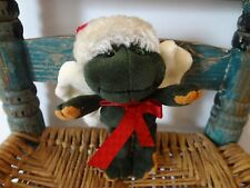 Boyds Bears TAD NORTHPOLE frog wings angel ornament stuffed plush 5""