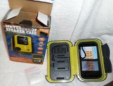 NEW Waterproof Phone Case Speaker Portable Amplified MP3 iPhone Android Floats
