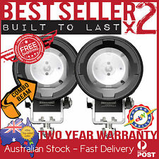 2 x CREE LED MOTORBIKE DRIVING LIGHT COMBO BEAM SET SPOT SPREAD TRIUMPH SUZUKI