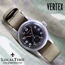 1940's VERTEX Swiss Dirty Dozen WWW MOD WW2 Vintage Military Watch Revue Cal. 59