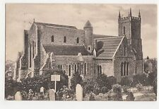 Hythe Church, 1910 Kent Postcard, A846