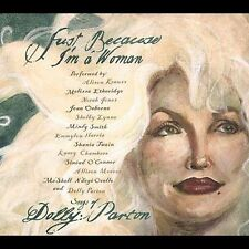 1 CENT CD VA Just Because I'm a Woman Songs of Dolly Parton - alison krauss