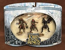 NEW RARE Uruk-Hai Lord of the Rings Armies of Middle Earth LOTR Play Along