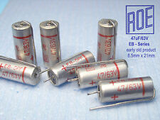 47uF- 63V ROE / EB-Series early product Audio Grade !! x 100 PIECES