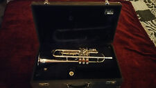 1967 Conn Connstellan 38B Trumpet -RESTORED IN SILVER W/24K GOLD ORGINAL M/P