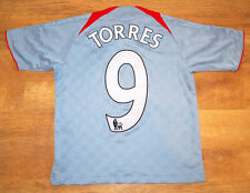 adidas Liverpool 2008/2009 'Torres' away shirt (For height 140 cm)