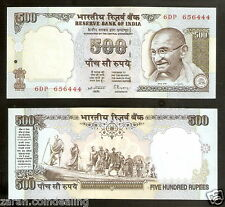 500 Rupees Gandhi Marching C.Rangarajan Grey (4th Issue) @ UNC Condition ( H-4)