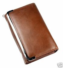 New Womens Lady Leather Fashion Purse Wallet Handbag Clutch Bifold Holder Brown