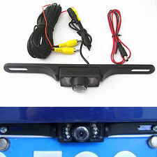 Reversing Parking Camera License Plate Infrared IR CMOS Night Vision Wide-angle