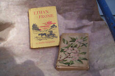 LOT/2 FRANCIS BACON/BACON'S ESSAYS 1883 & ETHAN FROME-EDITH WHARTON LIT.&FICT.