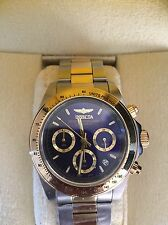 Invicta Mens Stainless Steel Chronograph Watch Professional 200m Speedway