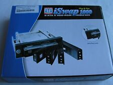 iSwap1000 Serial ATA SATA II Hard Drive Mobile Rack Plug & Play--USA SELLER