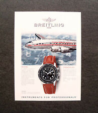 [GCG] L288- Advertising Pubblicità -1998- BREITLING , AVIASTAR