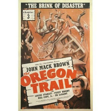 Oregon Trail  - Cliffhanger Movie Serial DVD Johnny Mack Brown Fuzzy Knight