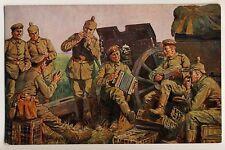 Red Cross WW I / DEUTSCHE SOLDATEN a d FRONT * Künstler-AK um 1915 A ROLOFF #2