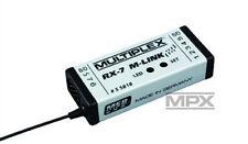 Multiplex 2,4 GHz Telemetrie fähiger Empfänger RX-7 M-LINK 55818 - neu!