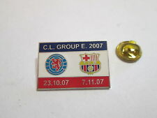 a1 BARCELONA - GLASGOW RANGERS cup uefa champions league 2008 football pins