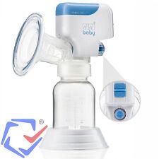 Einzelmilchpumpe Elektrische Milchpumpe mit Babyflasche Akku und Netzbetrieb +