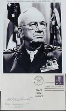 General Holland 'Howlin Mad' Smith WW II Marine Commander Signed Cover ''Rare''