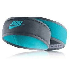NEW Nike Reflective Running Headband BNWT Blue/Blue Therma-Fit UNISEX