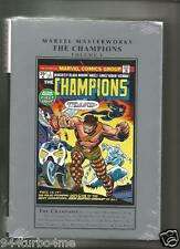 MARVEL MASTERWORKS CHAMPIONS Volume  #1 Hard Cover NEW! $100