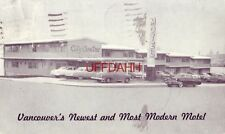CITY CENTRE MOTEL VANCOUVER'S Newest & Most Modern BRITISH COLUMBIA CANADA 1954