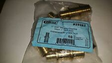 "Lot of 50 Pure Link 29282 PEX Brass Barb Coupling Union 1"" X 3/4"""