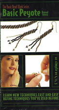 BASIC BEAD WORK SERIES VHS Basic Peyote Round Stitch OOP STILL SEALED!!