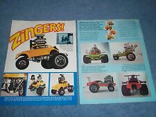 1971 MPC 1:2-scale Custom Zingers Article VW Bug Corvette Buggy Dodge Van