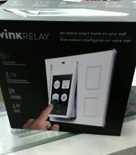 Wink Relay Smart Home Automation Touch Screen Lights Locks AC Control Panel