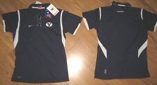 NIKE FIT DRY DRI BYU COUGARS WOMENS POLO SHIRT XL 16 18 GOLF BLUE BRIGHAM YOUNG
