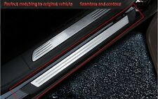 R-line Side Door Sill Scuff Plate Guard Threshold Protector Fit VW Touareg 11-16