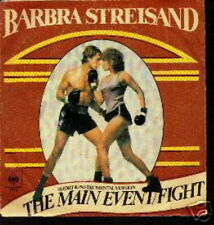 BARBRA STREISAND 45 TOURS HOLLANDE THE MAIN EVENT FIGHT