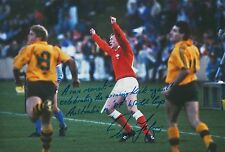 Paul Thorburn Hand Signed Wales Rugby 12x8 Photo 12.