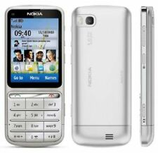 New Nokia C Series C3-01 Symbian 30MB 5MP 3G Unlocked Mobile Phone Silver