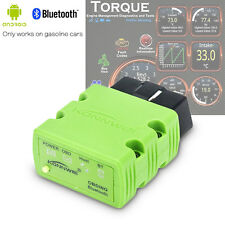 ODB2 OBDII Car Diagnostic Scanner Code Reader Bluetooth ELM327 For Android & PC