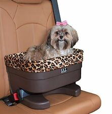 "Pet Gear PG1117JG Bucket Seat Booster for Small Pets  17""  Chocolate/Jaguar NEW"
