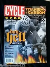 CYCLE SPORT - TITANIUM v CARBON - JUNE 2002