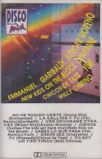 Emmanuel Garibaldi Azucar Moreno Yuri Disco Mix Cassette New Nuevo Sealed
