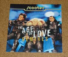 Maxi LP Scooter The Age of Love Remixes