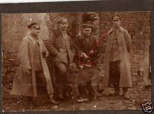 14407/ Originalfoto 7x10cm, Deutsche Soldaten mit ihren Hunden