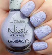 Nicole OPI Roughles I'M STUCCO ON YOU Pastel Purple Textured Nail Lacquer Polish