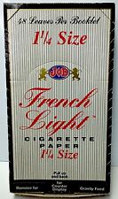 JOB French Light  - Cigarette Rolling Papers Sealed Box RARE
