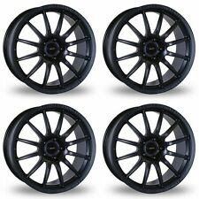 4 x Team Dynamics Matt Black Pro Race 1.2 Alloy Wheels - 5x112 | 18x8 | ET45