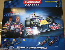 Carrera GO!!! Red Bull World Champions - Slotcars - Rennbahn - 62278