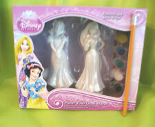 "6"" Disney Princess Rapunzel Snow White Statue Figurine Craft Paint Your Own Kit"