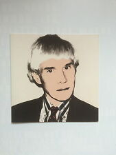Andy Warhol, esposizione invito Card, Anthony d'offay Gallery 1999