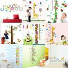 DIY Removable Decal Vinyl Art Wall Stickers Kids Child Baby Height Chart Measure